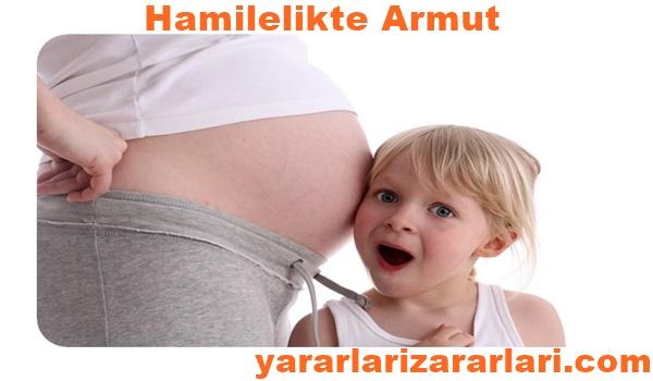 hamilelikte armut zararlı mı