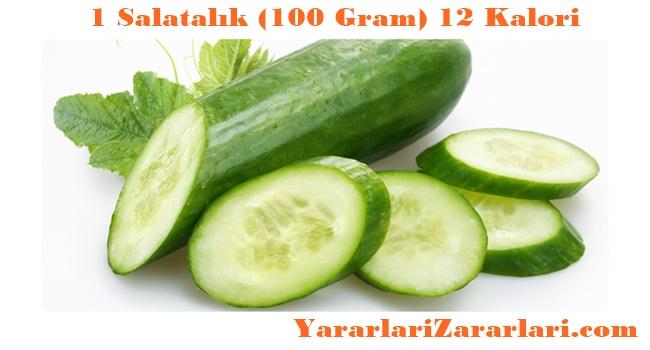Salatalik kaç kalori