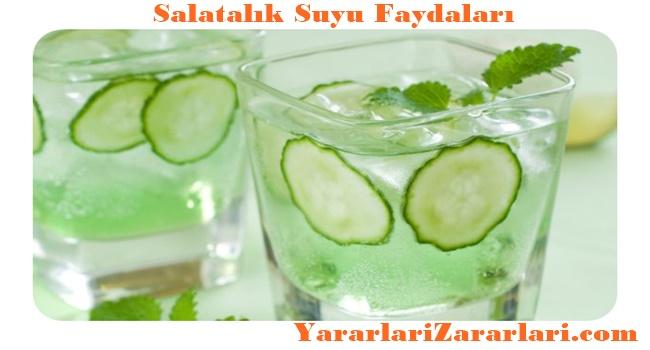 Salatalık Suyu Yararları
