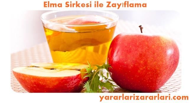 Elma Sirkesi İle Zayıflama, Kilo Verme, Yağ Eritme